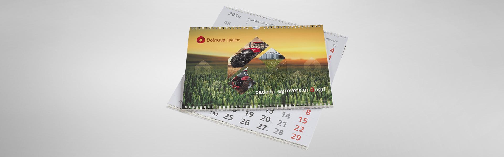 Dotnuva Baltic kalendorius